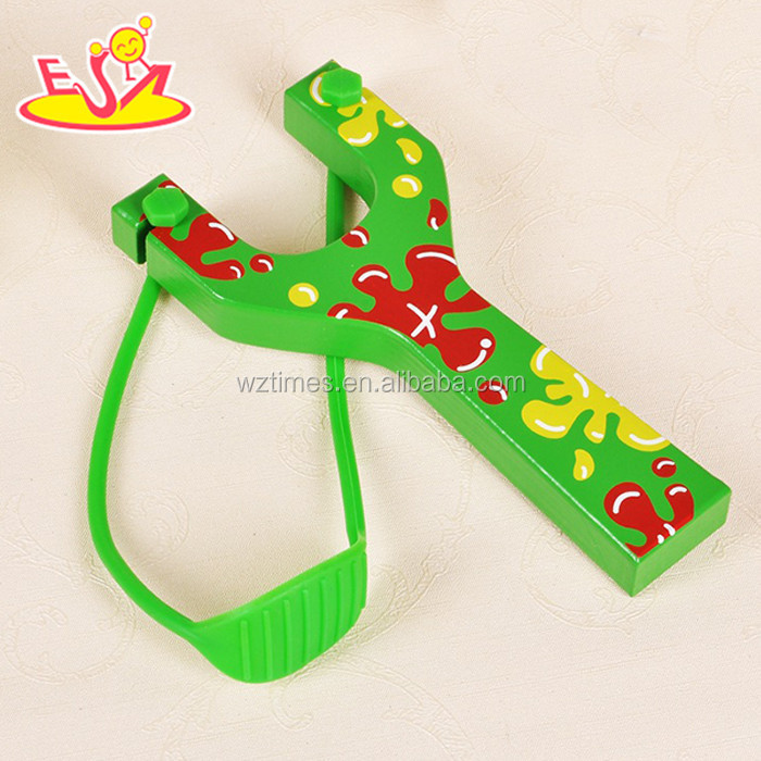 wholesale baby wooden Slingshot Toy cool kids wooden Slingshot Toy best sale children wooden Slingshot Toy W01A057