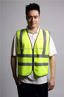 Wholesale alibaba 100% polyester work vest