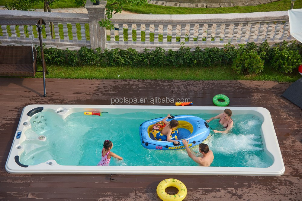 Luxury Balboa Swimming Pool Hot Tub Combo Outdoor Used Swim Spa Buy Swim Spa Pool Hot Tub