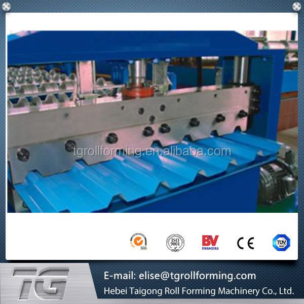 Very user-friendly trapezoidal Roof Panel Metal Sheet Rolling Forming Machine with very good price/performance ratio