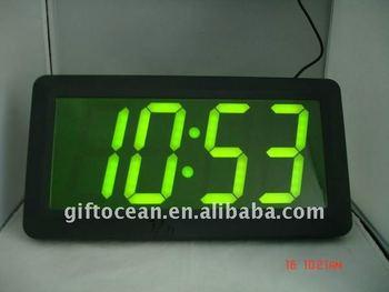 far view led clockgiant led wall clockbig led display clock