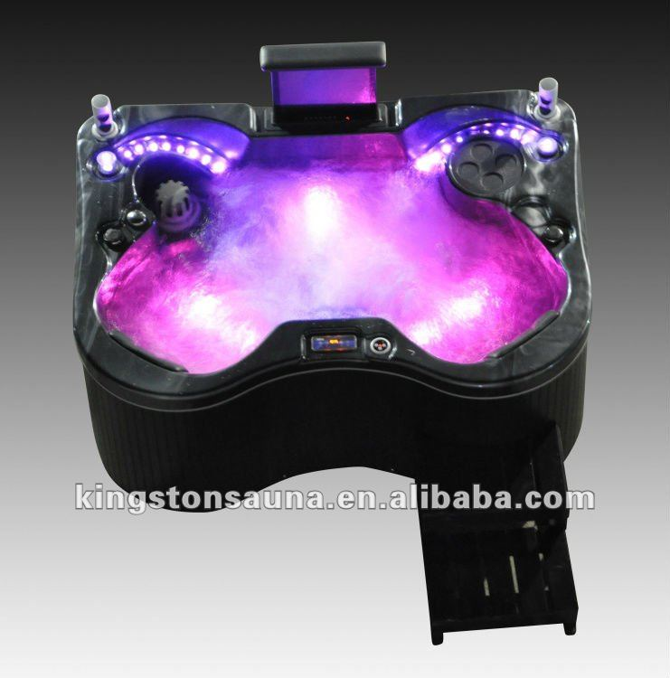 2 Person Mini Massage Bath Spa Hot Tub With Pop-up Tv - Buy Mini Spa ...