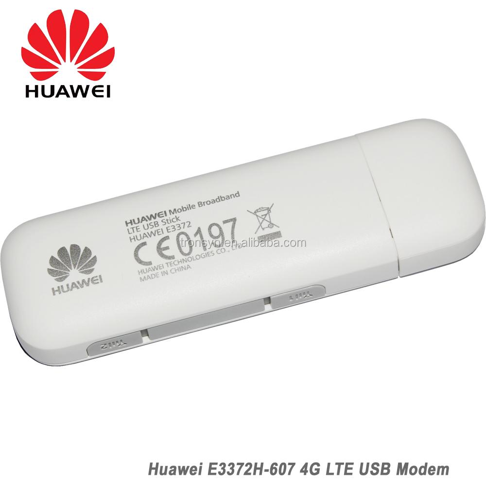 Original 150Mbps Huawei E3372H E3372H-153 4G LTE USB Stick