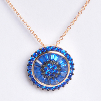 High Quality Gold Plated Necklace 18K Pendant Necklace Jewelries