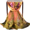 2019 New Lotus leaf chiffon scarf wholesale fashion women long cheap scarves