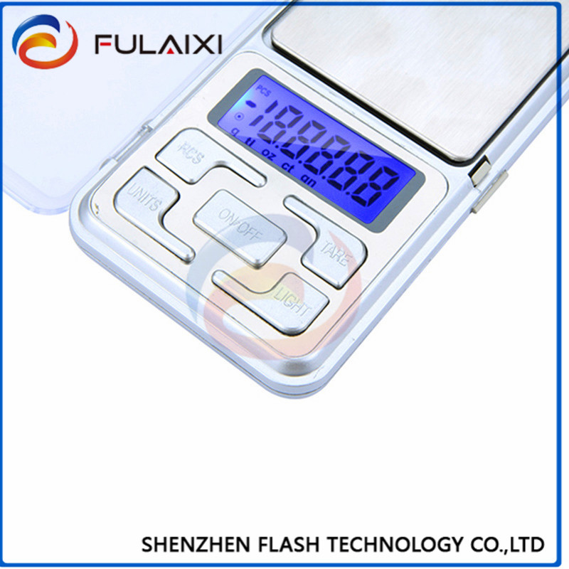 100g/0.01g High Accuracy Mini Electronic Digital Pocket Scale Jewelry Weighing <strong>Balance</strong> Counting Function LCD back light