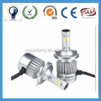 C6 Car Led Headlight Conversion Kit Super White 6000k H1 H3 H4 H7 9005 9006  Led Headlight Bulbs - Buy Led Car Headlight,Led Bulb,Led Car Auto Flashing