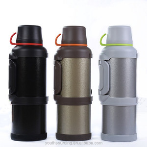 Stainless Steel vacuum Sports Water Bottle 2 Cup thermos 3.6L/4.0L