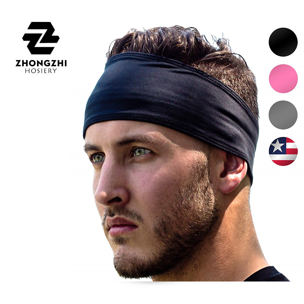 Sports <strong>Headband</strong> UNISEX Fitness <strong>Headbands</strong> For Women & Men Head Band Sweatband for Running Yoga Workout Gym Exercise