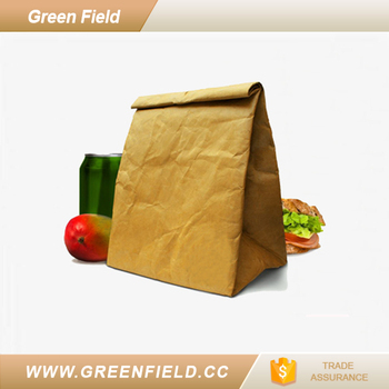 Disposable Lunch Box Washable Kraft Paper Food Storage Bag