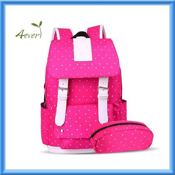 Daypack Book Bag Backpack For Teenager College Girls School Bags