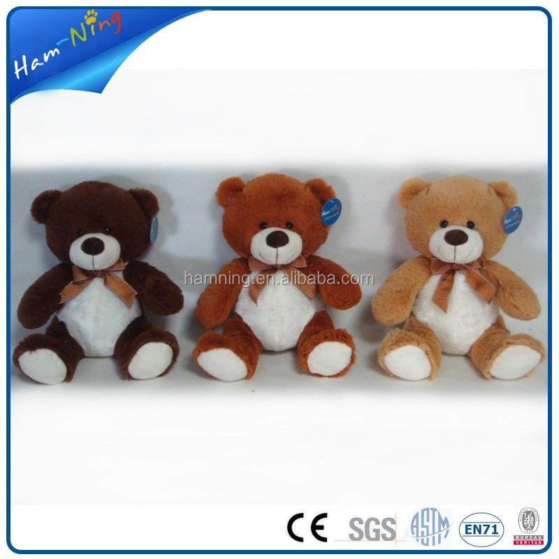25cm Naughty Light Up Teddy Bear Plush Toys