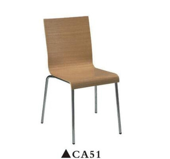 Favorable price cafe furniture, wooden chair designs for sale CA51