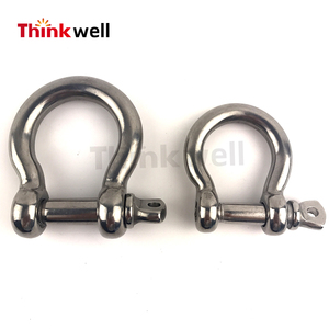 European Type Mini Stainless Steel Bow Shackle Price