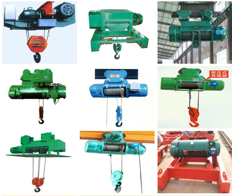 CD/MD Wire Rope Electric Hoist