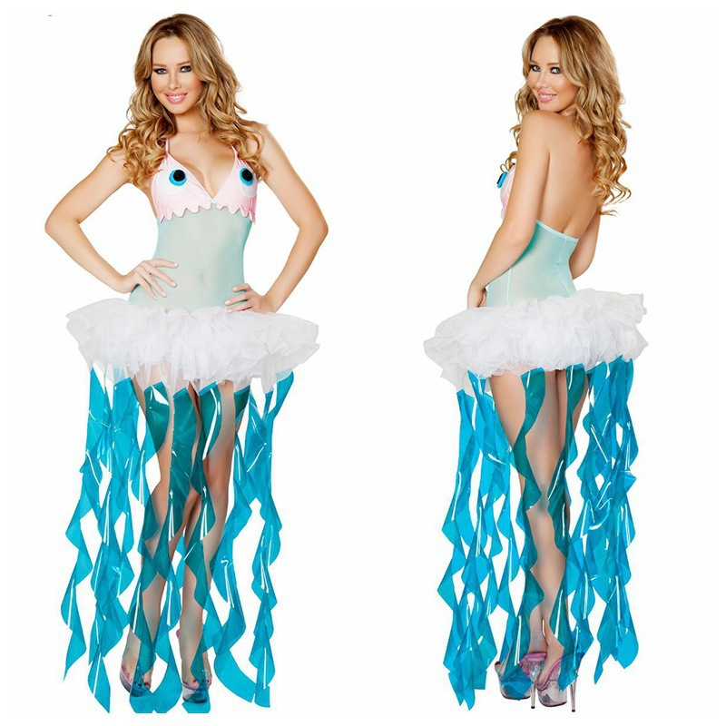 Buy Sexy Animal Costumes For Women Lovely Jellyfish Adult Sexy Animal Themed Halloween Costume Party Dress in Cheap Price on m.alibaba.com  sc 1 st  Alibaba & Buy Sexy Animal Costumes For Women Lovely Jellyfish Adult Sexy ...
