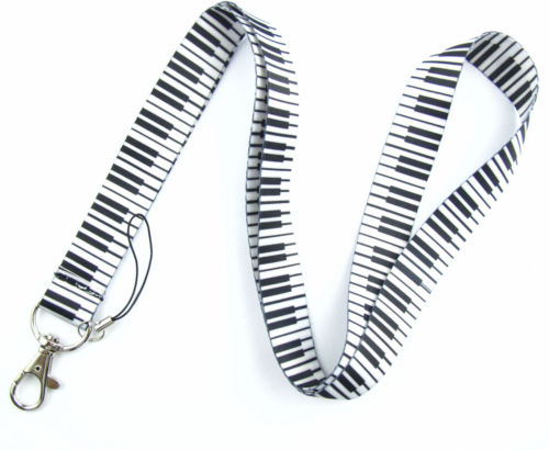 High Quality Fashion Simple Music Notation Cartoon Lanyard For Polyester