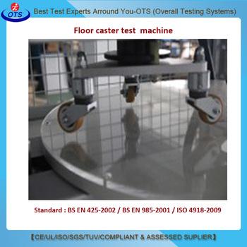 Casterresistant Floor Friction Tester Floor Caster Test Machine - Floor friction tester