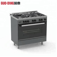 Hot selling big oven gas cooking range built-in oven