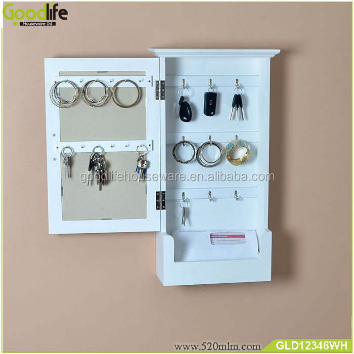 Wall Hanging Key Box With Dressing Mirror From Guangdong