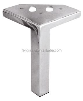 Chrome Square Metal Sofa Furniture Legs A783
