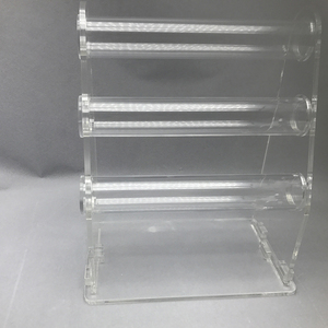 2 Layers clear acrylic bracelet display holder