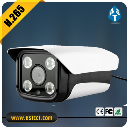 H.265 Long Range 100m Night Vision IP Camera 2MP Starlight IMX 185 IP IR Bullet Camera 3.6-10mm Varifocal Lens Camera