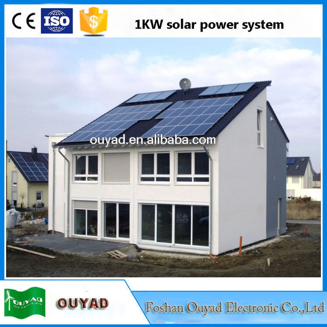 high efficency 1kw whole house solar power system 1kw solar energy system price in pakistan