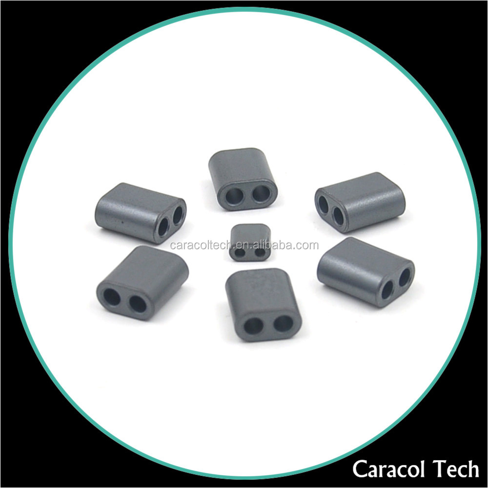 High Permeability NiZn Two Hole Ferrite Balum Core With RoHs Approved