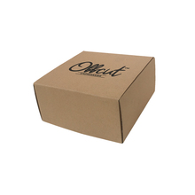"Color Embossed Cosmetics Flat Packaging For Electronics Product ""solid And Durable Carton Packing"" Cardboard Box Cupcake"