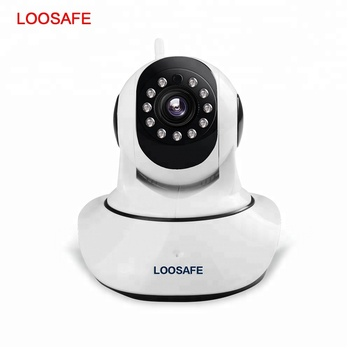 LOOSAFE 720P HD Wifi Home security ip camera wireless Network CCTV Surveillance Camera IR Night Vision Baby Monitor camera