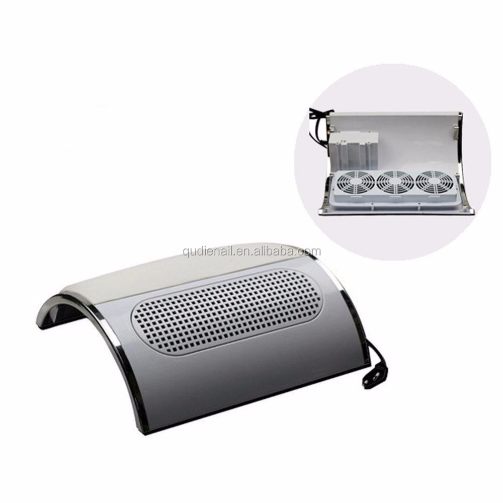 30w Nail Art Vacuum Cleaner Dryer Table Nail Dust Collector With 3 ...