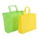 fashion non woven tote bag non-woven polyurethane messenger bag with white trim