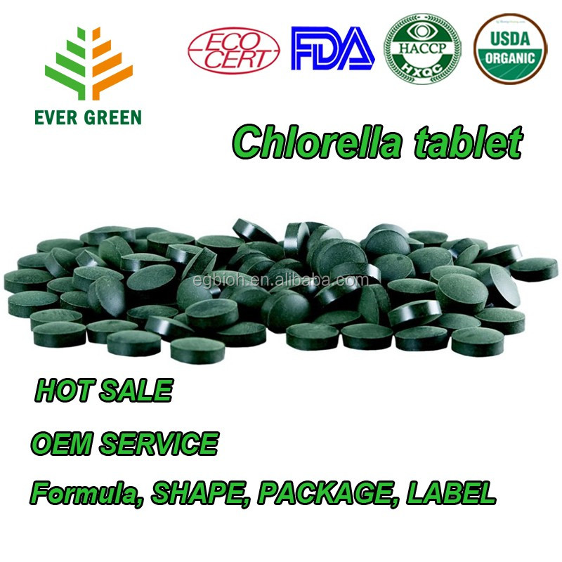 Spirulina tablet , chlorella tablet in bulk ECO , USDA, HALA, KOSHER