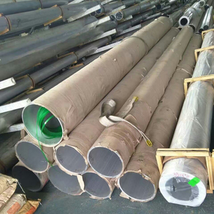 high quality OD 390mm 6061-T6 seamless aluminum pipes supplier