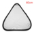 60cm 24'' 2-in-1 Collapsible Triangle Disc Studio Light Reflector Silver and White