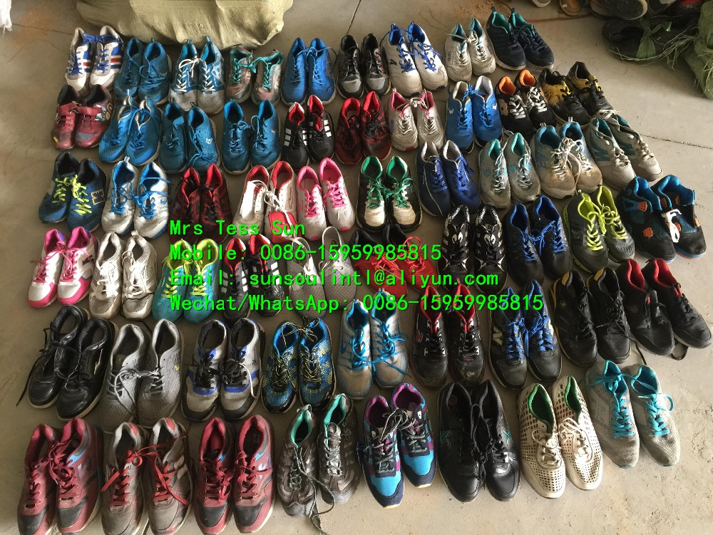Used sneaker sport shoes