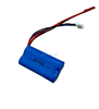 RC toy rechargeable li-ion battery 2S1P 7.3v 1100mah high rate li-ion battery pack