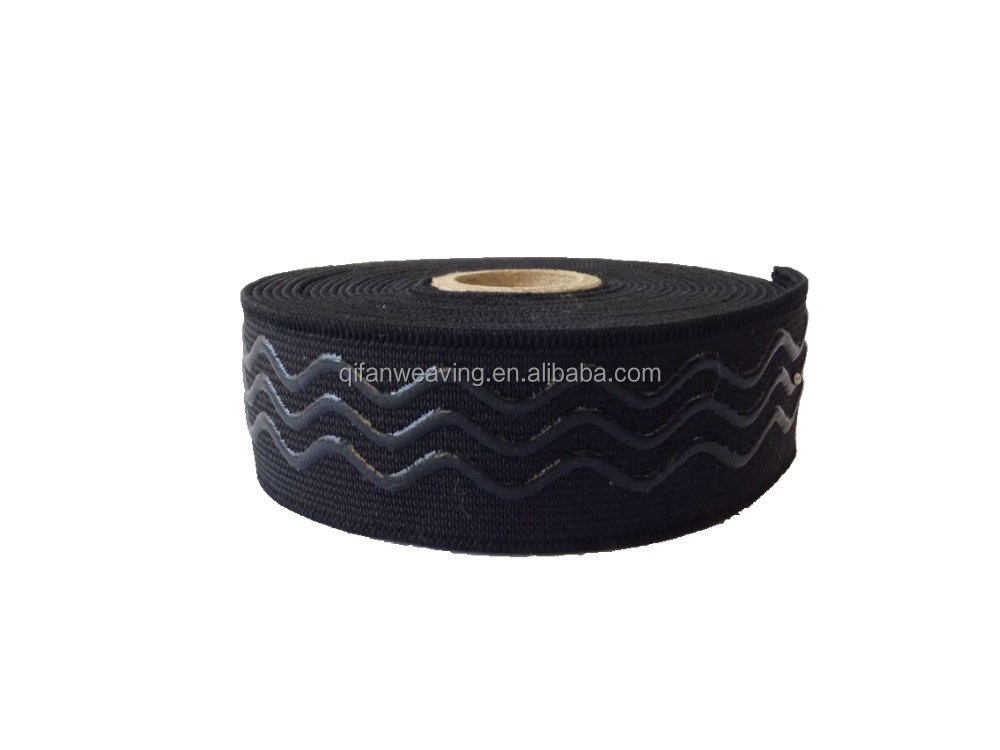 SPORTSWEAR CUSTOMIZED SILICONE ELASTIC TAPE GRIPPER