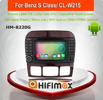 Hifimax Android 6 0 Car Gps For Mercedes Benz W221 W220 S-class/dvd Player  For Mercedes Benz S Calss Dvd Gps Navigation System - Buy Car Gps For