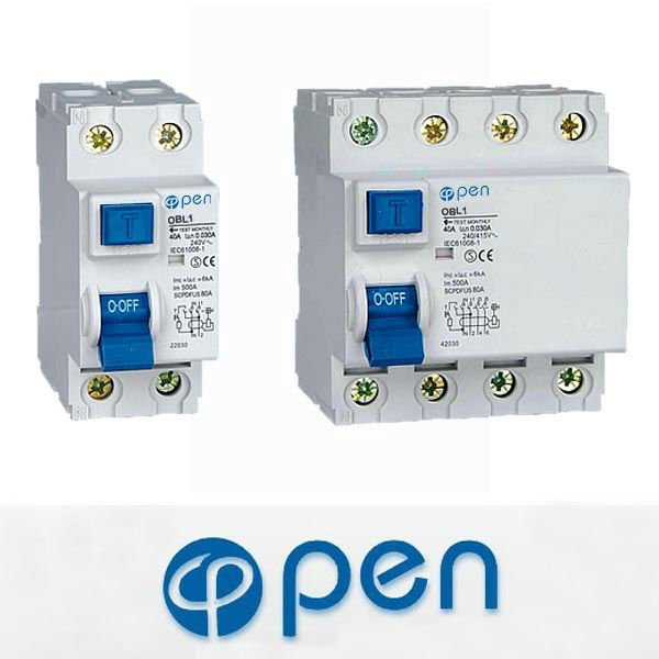 OBL1-63 I (Electro magnetic) Residual Current Operated Circuit Breaker