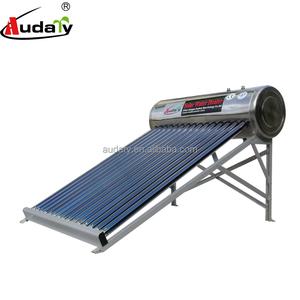 rooftop low pressure stainless steel solar water heaters