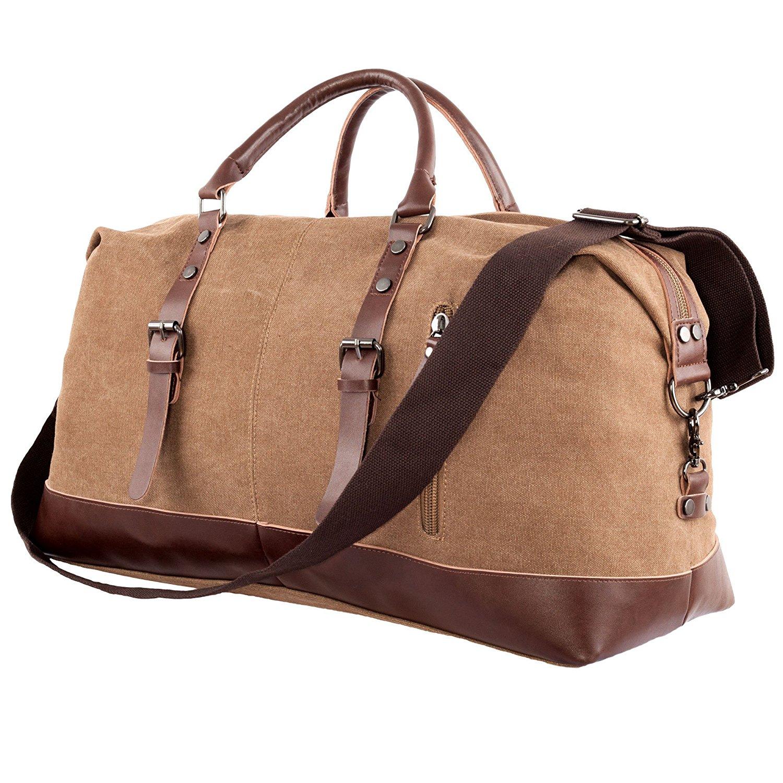 cec36c19ee69 Buy Travel Duffel Weekend Overnight Bag - Tote Bag for Men and Women ...