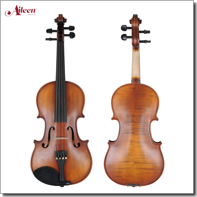 Wholesale Middle Grade Flame Back Metal German Prices Of Violin ( VM100 )