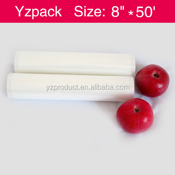 "2 - 11""X50' Vac-Fresh <strong>Rolls</strong> Embossed 4mil Vacuum Sealer Bags"