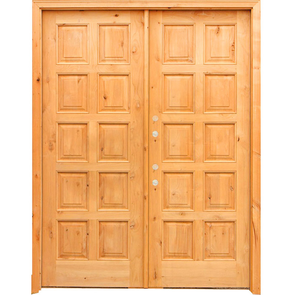 Double Door Wooden Design - Door Ideas ~ themiracle.biz