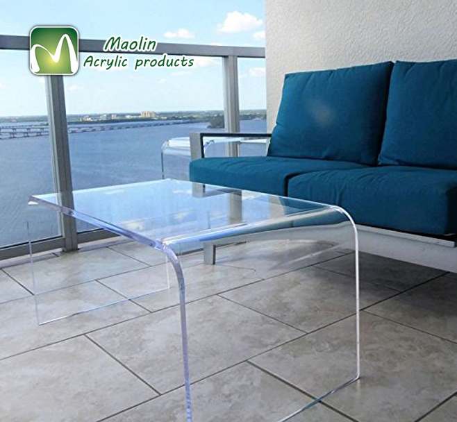 Factory directly supply modern lounge dining bedroom furniture imported black acrylic coffee <strong>table</strong>