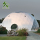 Geodesic Dome Tent Steel Frame PVC Yurt Tent From China