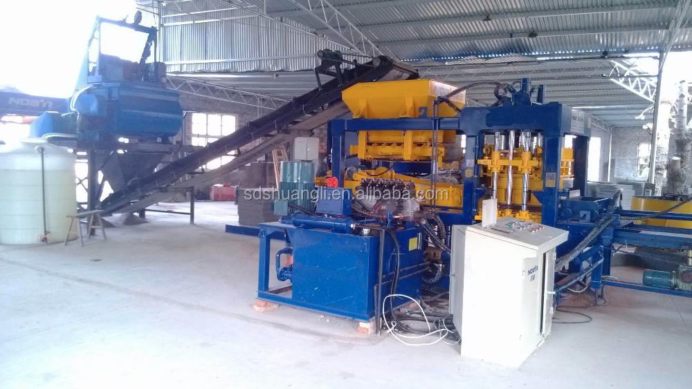 QT9-15 full automatic concrete brick machine price south africa