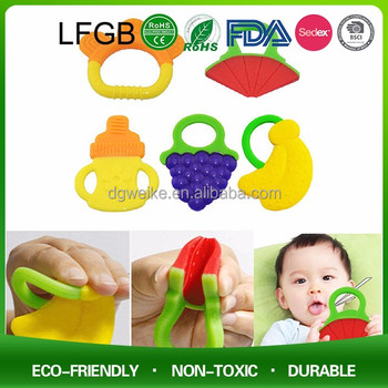 Silicone Soft Baby Teether / Safe Baby Teether Silicone